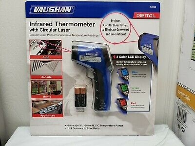 Vaughan Infrared Digital Thermometer with circular laser accurate temperature