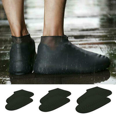 Silicone Overshoes Rain Waterproof Shoe Covers Boot Cover Protector Recyclable w