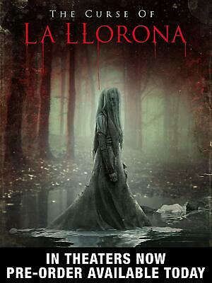The Curse of La Llorona Standard Edition DVD PREORDER 08