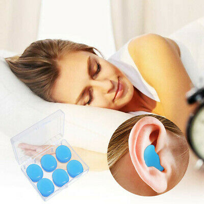 Deformable Soft Silicone Ear Plugs Putty Ear Plugs For Sleeping Swimming Bathing