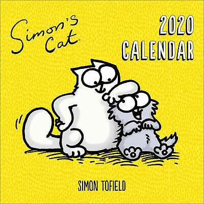 Simon's Cat Calendar 2020