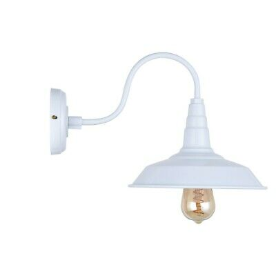 Argyll Industrial Wall Light Pure White