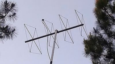 CUBICAL QUAD ANTENNA for 2 meter 144/148 mhz  **4 ELEMENT