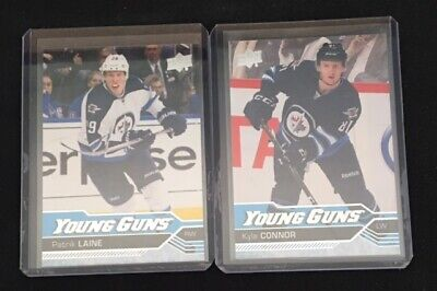 Patrick Laine And Kyle Connor Young Guns **SHIPPING INCLUDED**