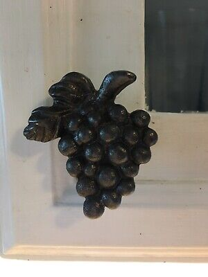 Cast Iron Grape Cluster Cabinet Knobs.  Lot Of 26