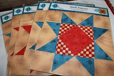 Coming Home Collection Eight Pointed Star Quilt Express June Tailor