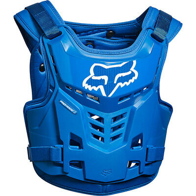 FOX ADULT PROFRAME LC BODY ARMOUR PROTECTION - BLUE motocross mx mtb bike