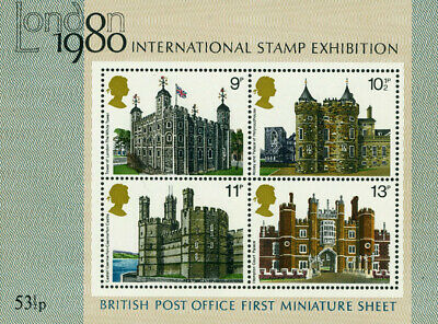 QEII 1978 MS1058 British Architecture Miniature Sheet MNH