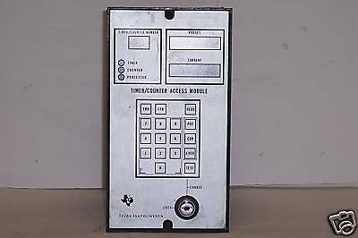 Texas Instruments Timer Counter Access module PM550-410