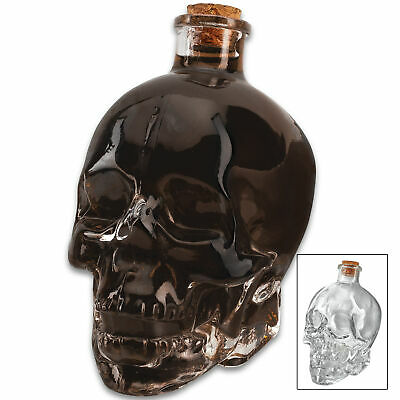 Crystal Skull Head Glass Vodka Bottles Skull Bottle Gothic Wine Whiskey Decanter