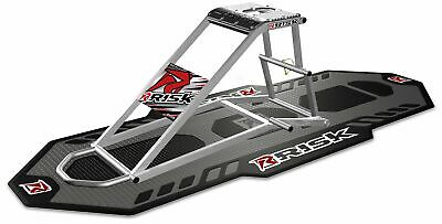Dirt Bike Ride On Motorcycle Lift Stand & Garage Pit Mat - Risk Racing