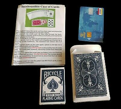 Inexhaustible Deck of Cards Magic Trick Re-Load New Unopened Fast Shipping