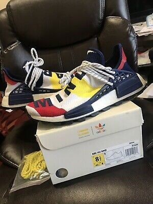 BILLIONAIRE BOYS CLUB x Adidas Nmd Hu Pharrell 8.5 BBC Human Race BB9544