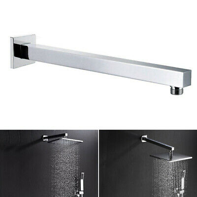 """24""""60cm Stainless Steel Wall Mounted Shower Extension Arm For Rain Shower Head"""