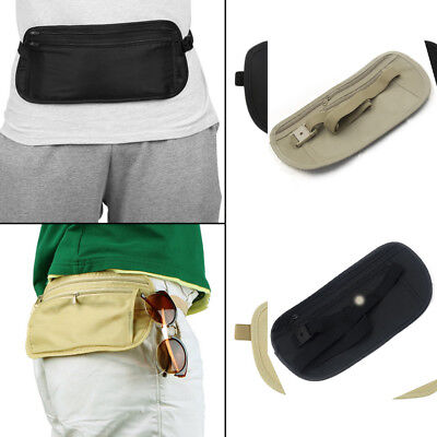 Anti-thief Nylon Pouch Hidden Wallet Travel Passport Money Slim Sport Waist Bag