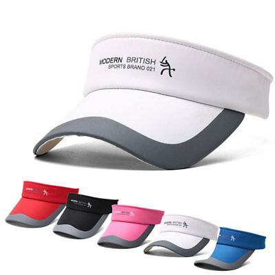 Unisex Tennis Sports Adjustable Cap Sun Visor Golf Cap Headband Hat Beach Vizor