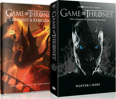 Game Of Thrones: The Complete Seventh Season - 4 DISC SET (REGION 1 DVD New)