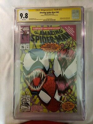 Amazing Spider-Man #363 CGC 9.8 SS NM/MT Signed STAN LEE  Carnage Venom