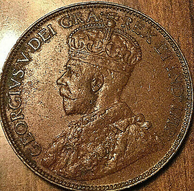 1920 CANADA LARGE CENT PENNY - Excellent example!