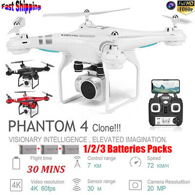 Clone DJI Phantom 4 ! RC Drone With 1080P HD Camera Wifi FPV Drone RC Quadcopter