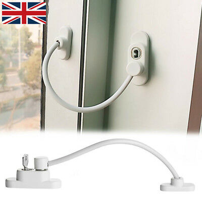 1/2/4 PCS Window Door Restrictor Child Baby Safety Lock UPVC Cable Catch Wire