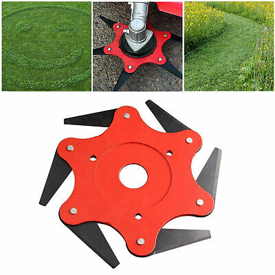 6 coin STRIMMERS BRUSHCUTTER HEAD herbe désherbage Cutter Débroussailleuse