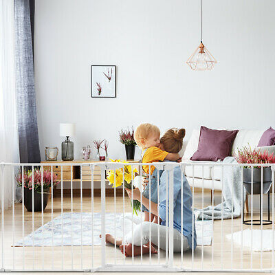 6-Panel Adjustable Baby Safety Playpen Pet Exercise Cage  Multifunctional fence