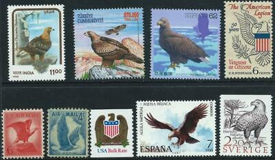 EAGLES - Selection of Eagles from around the world [A0154]