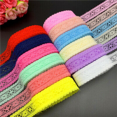 5yards 20mm Lace Ribbon Embroidered Lace Fabric Trim Handmade Lace Decorations