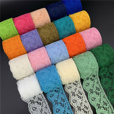 5yards 60mm Lace Ribbon Embroidered Lace Fabric Trim Handmade Lace Decorations