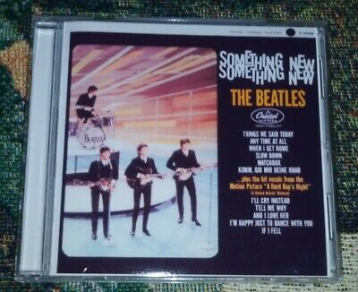 The Beatles SOMETHING NEW T2108 MONO CD! U.S Version!
