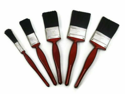 5 Pack Paint Brush Fine Brushes Set Advanced Bristles Decorating DIY Painting