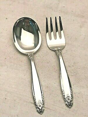Prelude by International 2 piece Baby Set, Sterling Silver, gently used