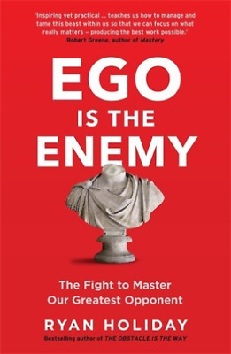 Holiday, Ryan-Ego Is The Enemy BOOK NEW