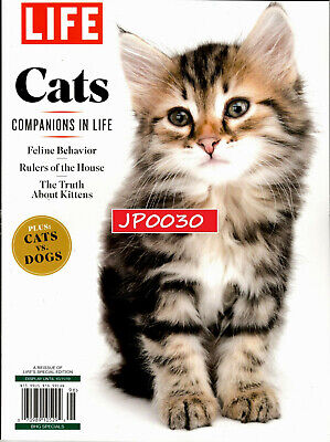 LIFE Magazine Special 2019, Cats, Companions In Life, New/Sealed, Reissue