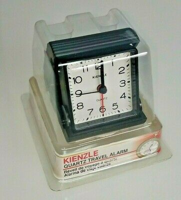 NEW KIENZLE Travel Alarm Clock FOLDS FLAT- Quartz Movement  WHOLESALE