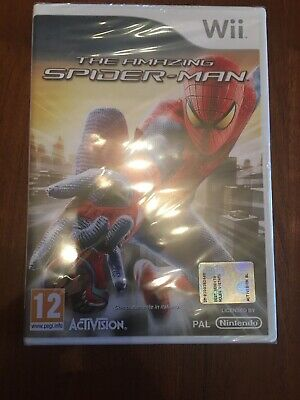 The Amazing  Spider-Man  WII (NUOVO MAI APERTO)