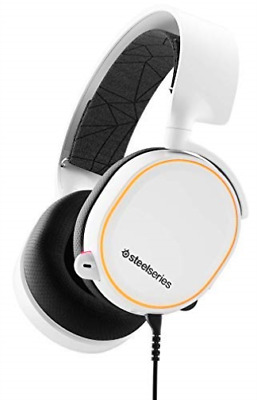 Steelseries: Arctis 5 - Gaming Headset - 2019 Edition - White (Multi) NEW