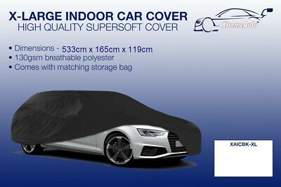 XL Black Indoor Car Cover Protector Mercedes-Benz M-Class 1998-2016