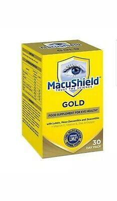 Macushield Gold 90 Capsules 1 Month Supply Brand New Long Expiry Date 100%GENUIN
