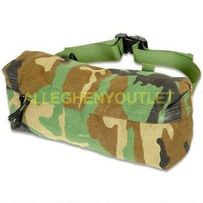 US Military MOLLE II Waist Pack Pouch – Butt / Fanny Hip Bag - Woodland – EXC