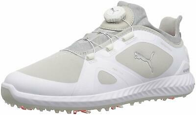 94db8ced9 PUMA Men's Ignite Pwradapt Disc Golf Shoes Peacoat, White/Gray Violet, Size  11.5