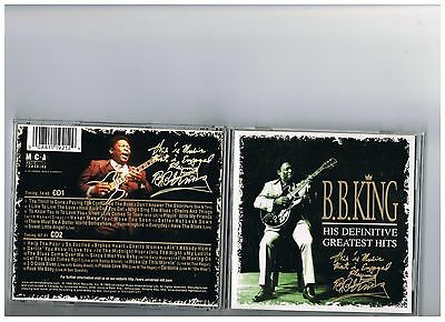 B.b. King 2 Cd Set. Greatest Hits..the Best Of..definitive..bb