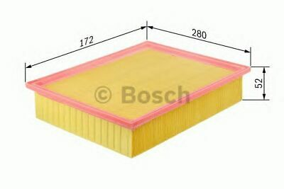 VOLVO C30 533 2.0D Air Filter 06 to 07 D4204T Bosch 8683560 Quality Replacement
