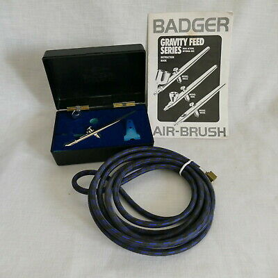 Badger AirBrush Model 100-SG in Case with Instruction Book & Air Hose