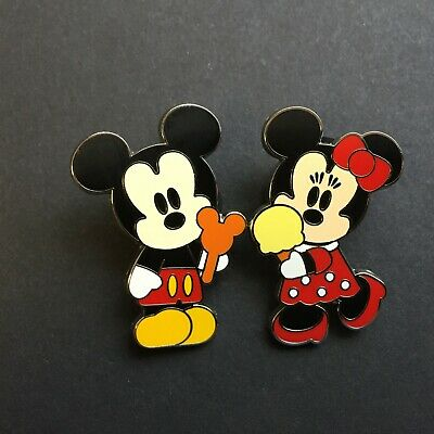 Pin Trading Starter - Cute Characters - Mickey & Minnie Mouse - Disney Pin 41980