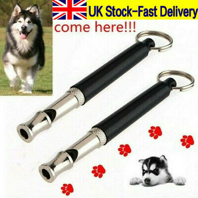 Dog Whistle Ultrasonic Tunable Voice Silent Key Chain Puppy Training Whistle New