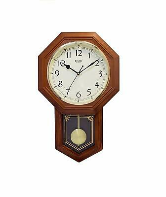 Plastic Pendulum Wall Clock For Home Living Room Bed Room Office