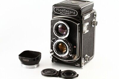 """Minoltacord automat 6x6 TLR Film Camera 75mm F/3.5 """"Exc """" From japan#1311"""