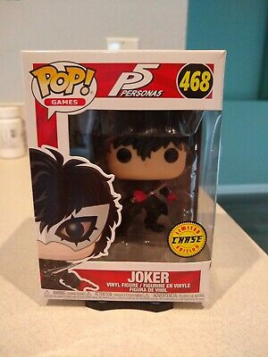 Funko Pop Games P5 Persona 5 The Joker Limited Edition Chase #468 pop protector